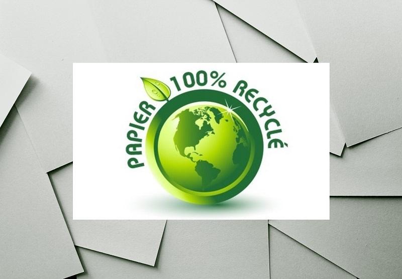 Papier recyclé écologie - actualités Bajon Andres