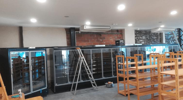 Equipements frigorifiques magasin biocoop