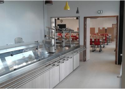 Mise aux normes de la cuisine au Lycée Adriana à Tarbes